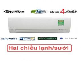 Điều Hòa Panasonic 9000btu 2 chiều inverter Z9TKH