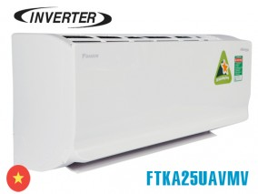 Điều hòa Daikin inverter 1 chiều FTKA25UAVMV